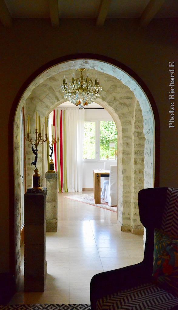Arche pierre interieur hannah elizabeth interior design