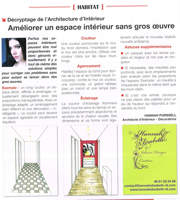 Article fevrier 2015 decoration sans grosoeuvres