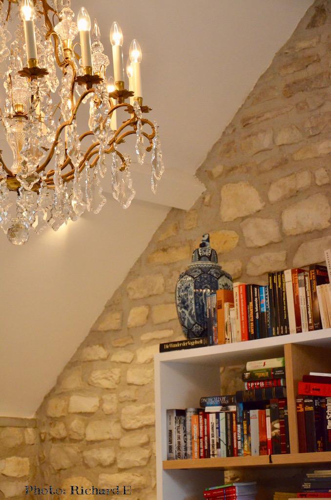 Bibliotheque lustre hannah elizabeth interior design