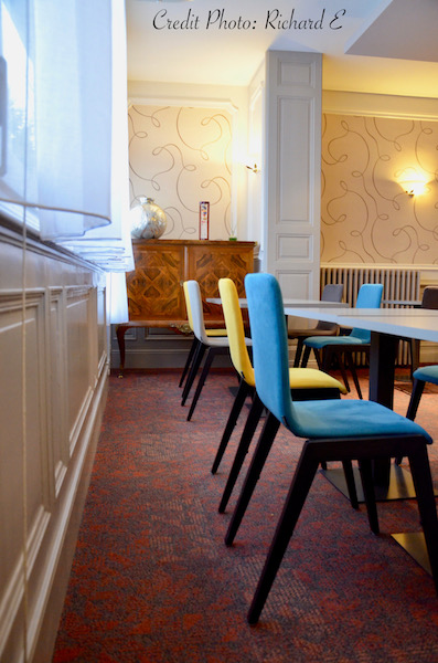 Boiseries salle petit dejeuner hannah elizabeth interior design