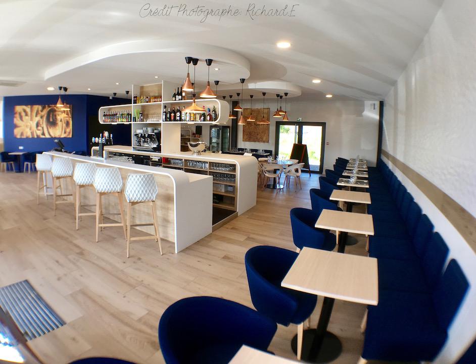 Brasserie bar krion et salle bleu