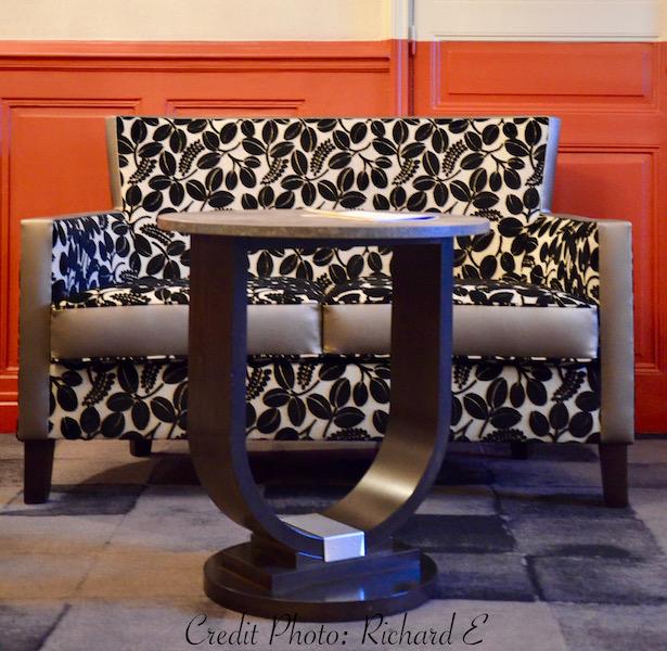 Canape bar table basse hotel hannah elizabeth interior design