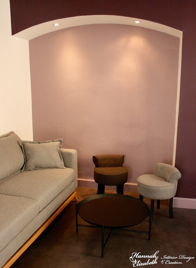 Canape table basse et fauteuils salon