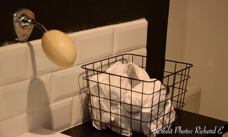Carreaux metro blanc savon ancien hannah elizabeth interior design