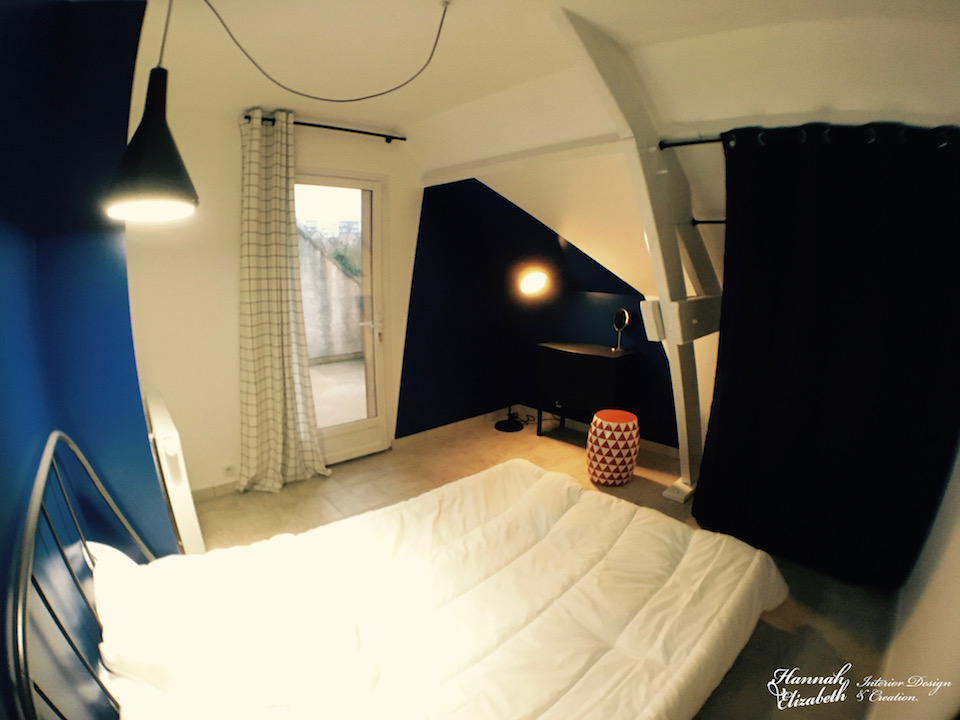 Chambre avec acess balcon