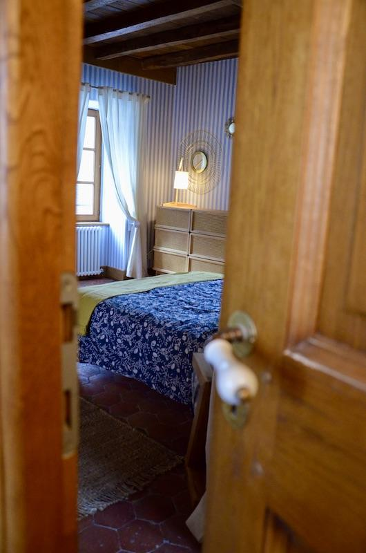 Chambre bleu jaune nature hannah elizabeth interior design