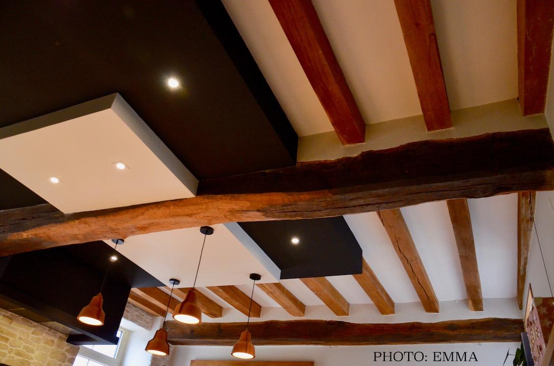 Cuisine faux plafonds eclairage hannah elizabeth interior design