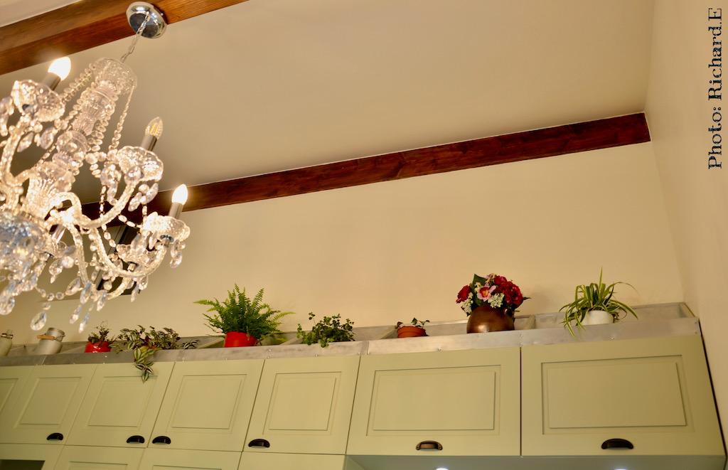 Cuisine lustre pampille hannah elizabeth interior design 1