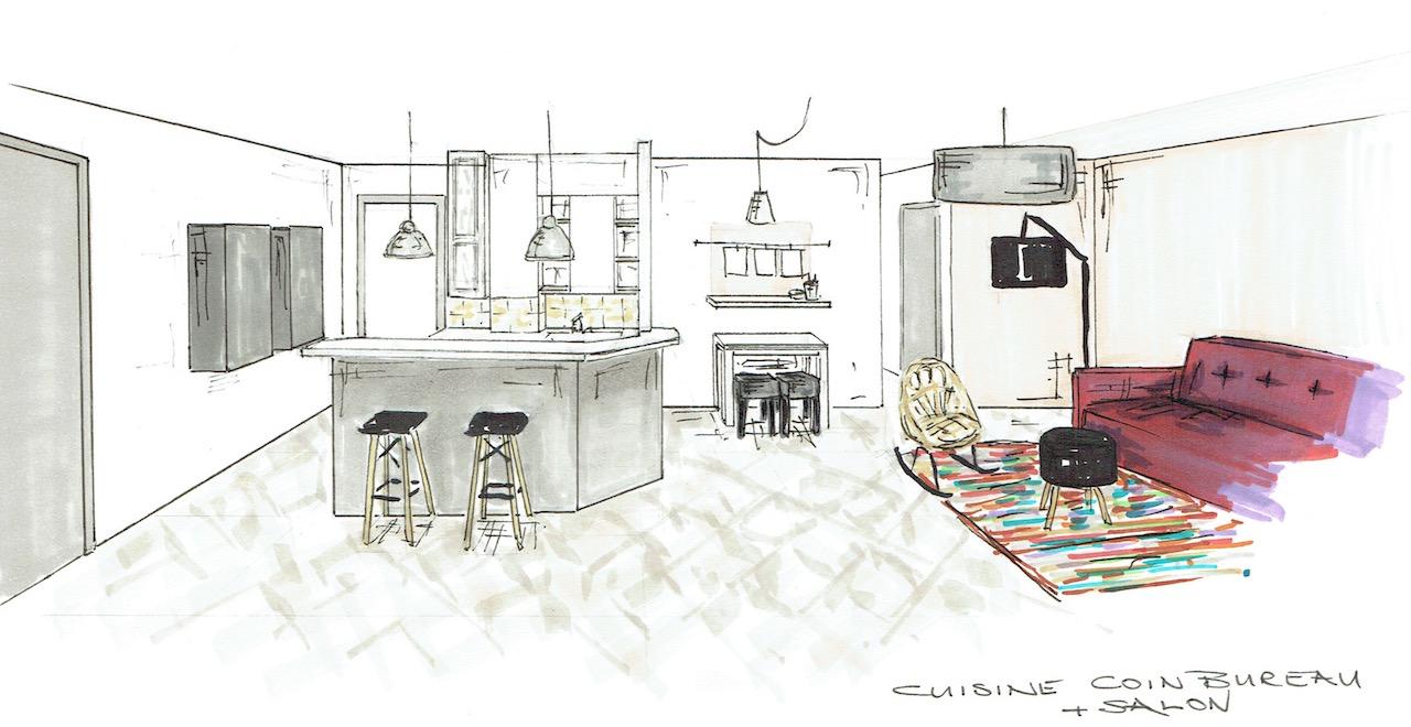Cuisine salon copie