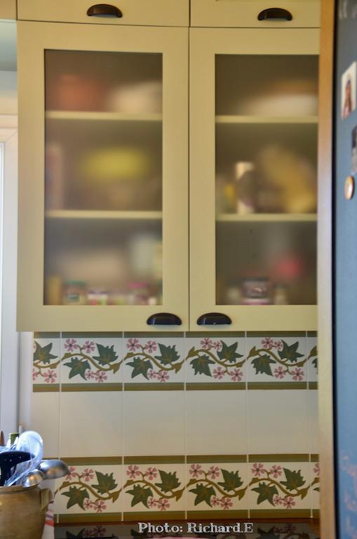 Cuisine vert tilleul sage green hannah elizabeth interior design