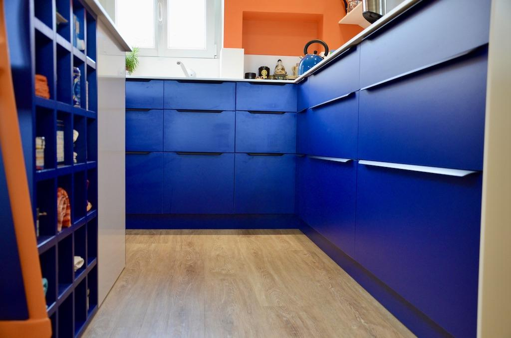 Cusine bleu hannah elizabeth interior design