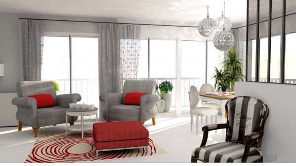 De coration appartement rendu 3d hannahelizabethinteriordesign