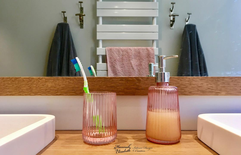 Double vasques miroir salle d eau hannah elizabeth interior design