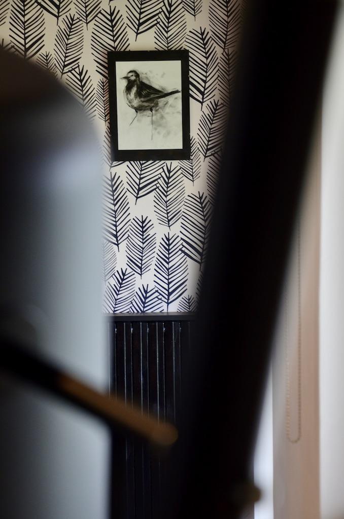 Entre e noir blanc bois hannah elizabeth interior design