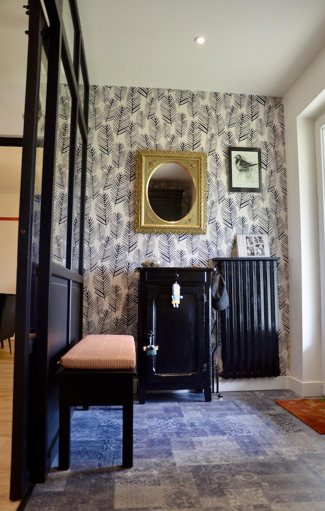 Entre e noir blanc ocre hannah elizabeth interior design