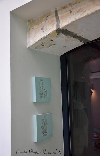 Entree pierre verriere vert deau hannah elizabeth interior design