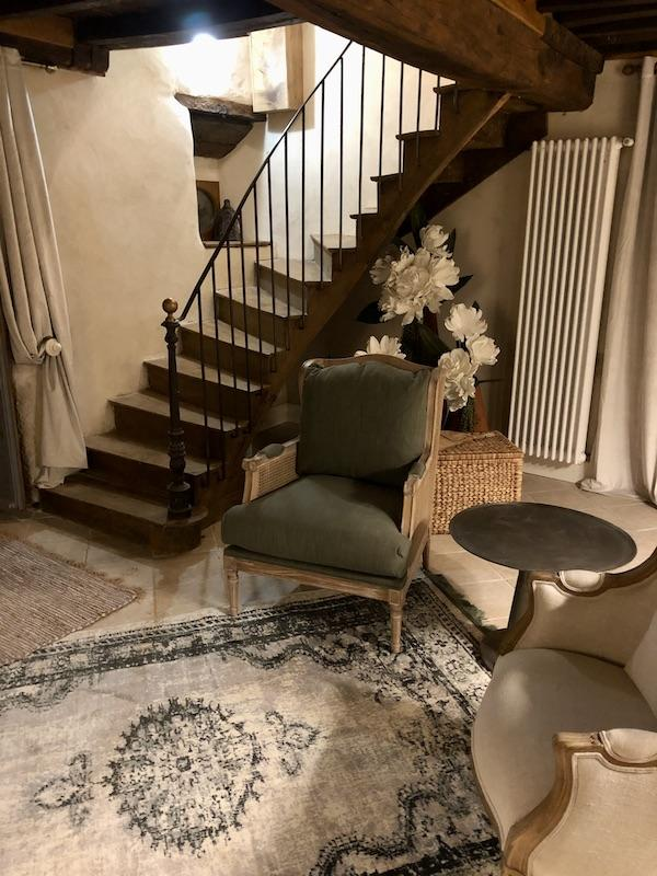 Escalier bois fer forge hannah elizabeth interior design