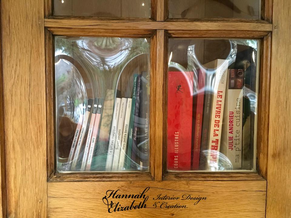 Fenetre bibliotheque cuisine bois