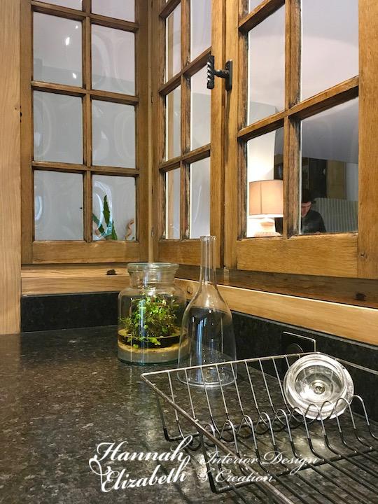 Fenetres interieurs cuisine plan granite