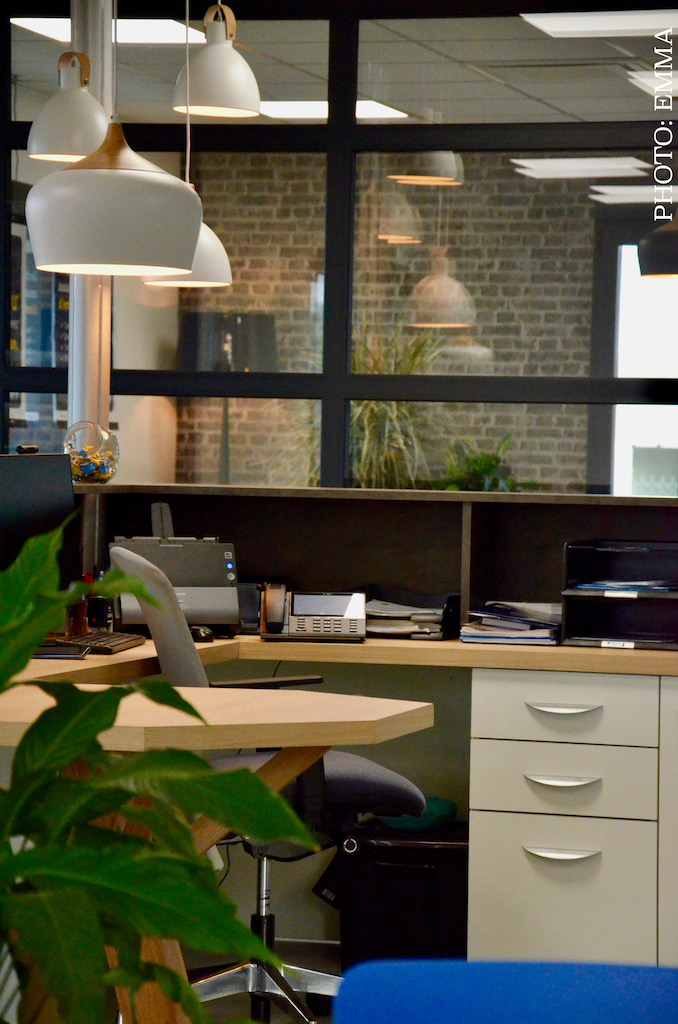 Gan assurances chatillon bureau vitre e plantes et bois hannah elizabeth interior design