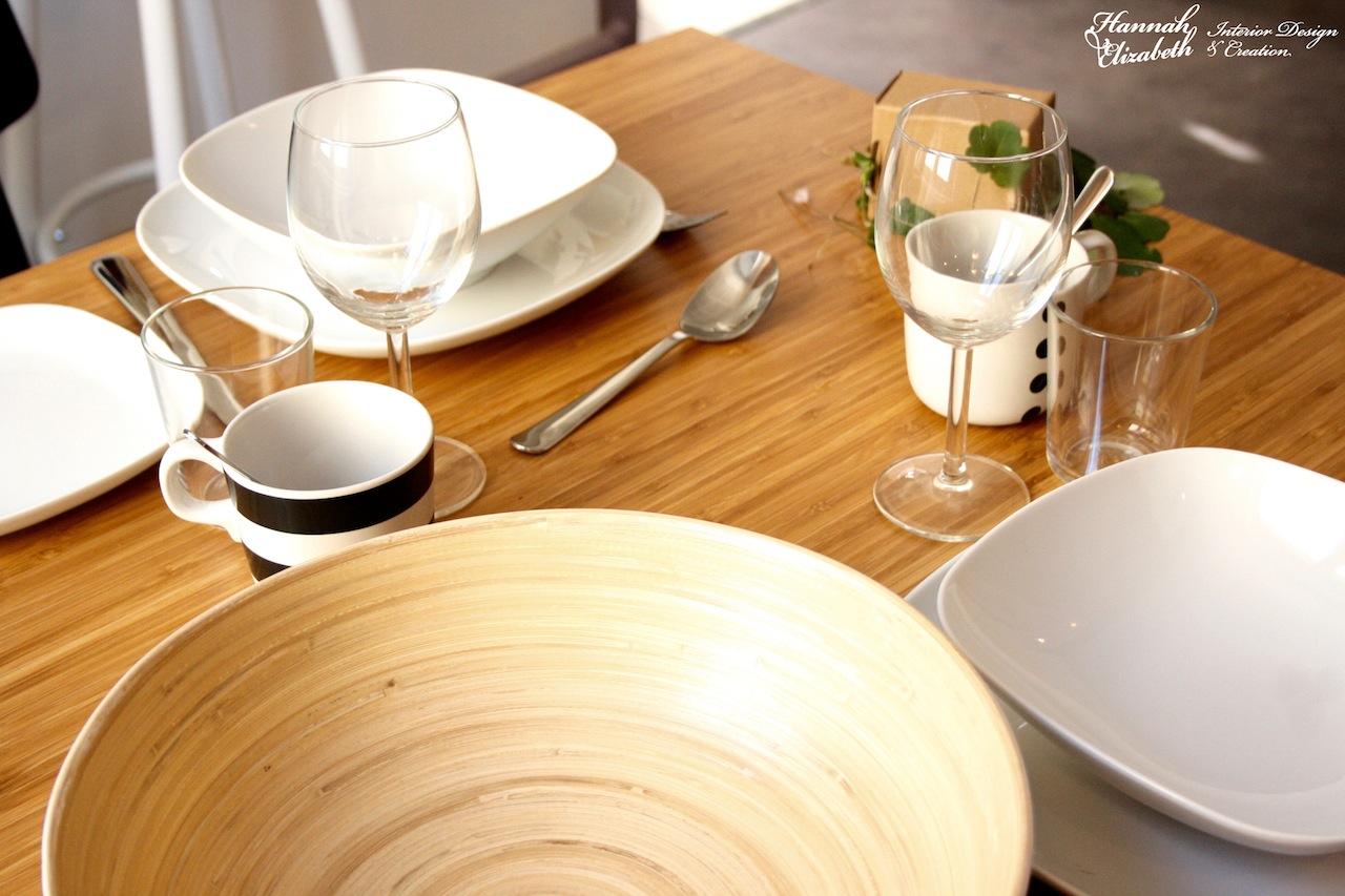 L heure de manger a table