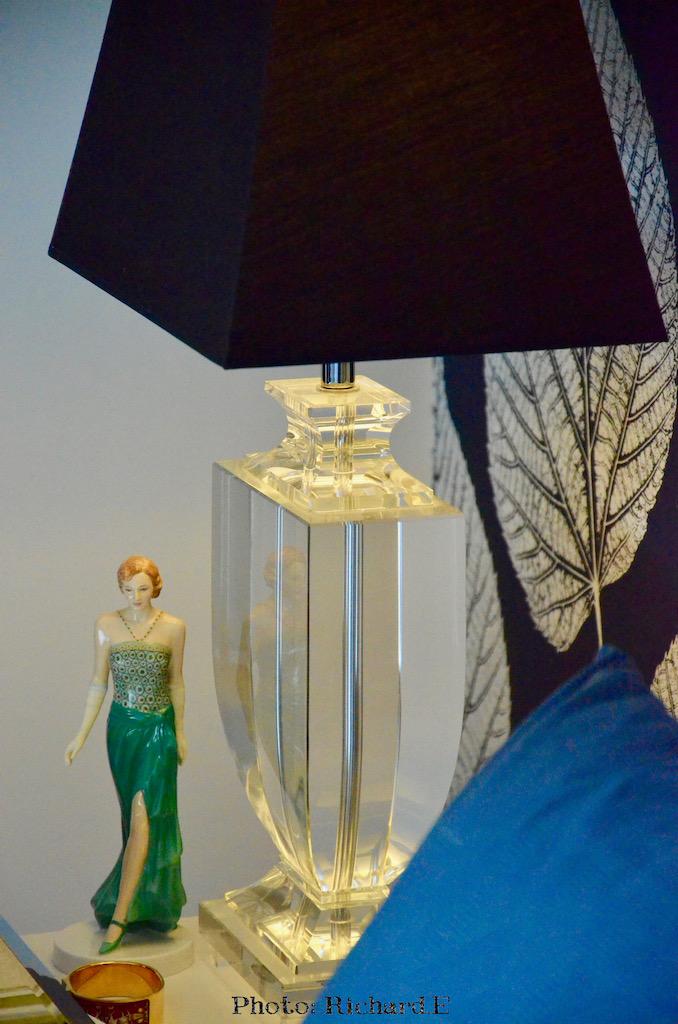 Lampe chevet statue hannah elizabeth interior design