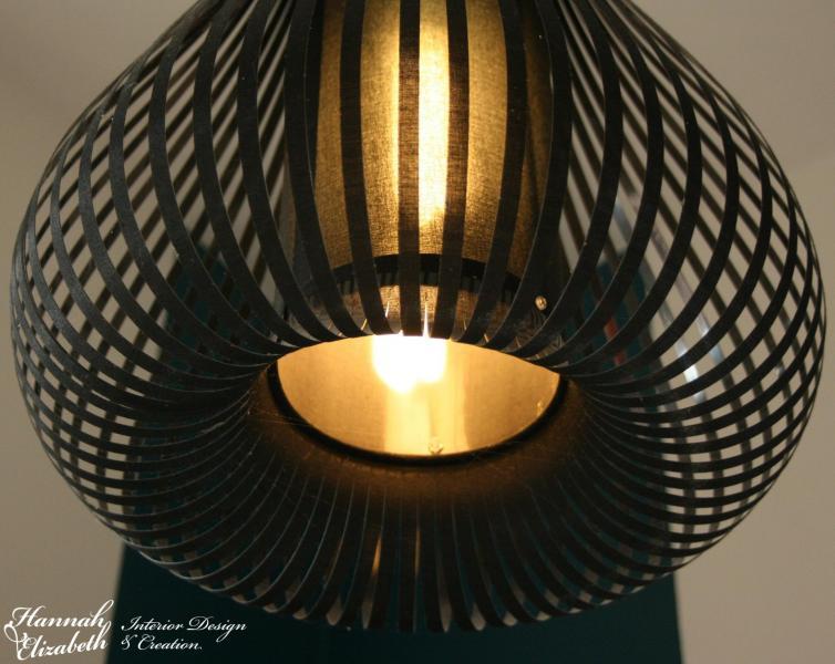 Lampe suspension chambre japonais