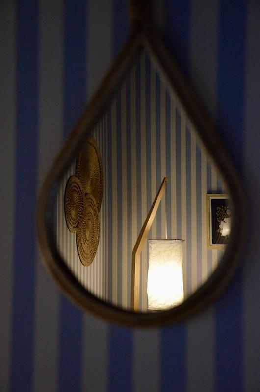 Miroir rotin hannah elizabeth interior design