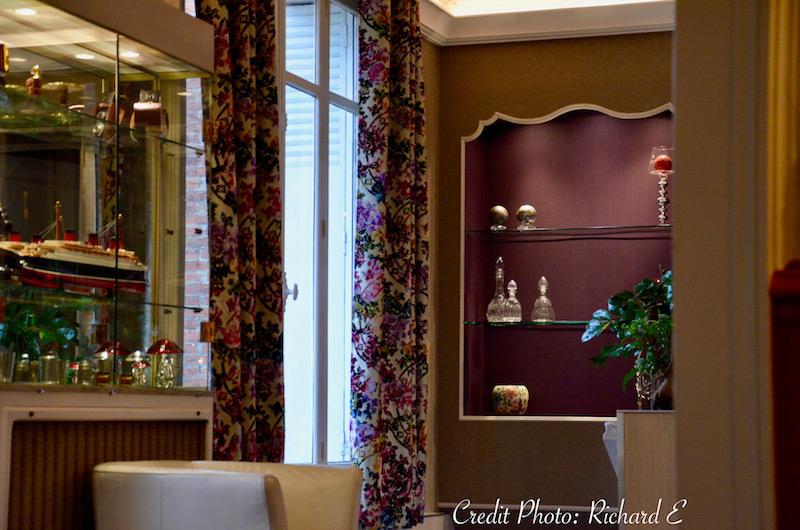Niche violet entree hotel hannah elizabeth interior design