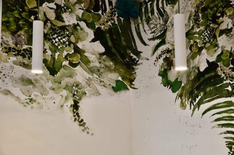 Papier peint jungle hannah elizabeth interior design