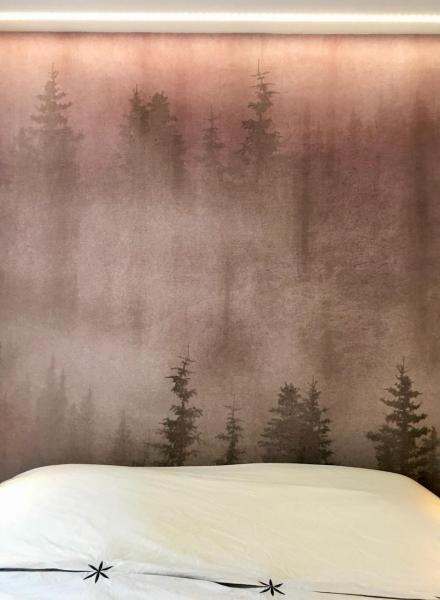 Papier peint tete de lit hannah elizabeth interior design
