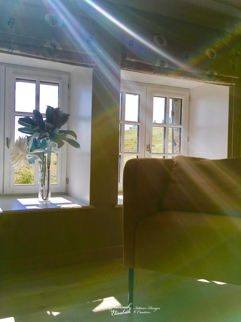 Rayons soleil salon hannah elizabeth interior design