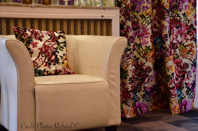 Rideaux fauteuil hotel hannah elizabeth interior design