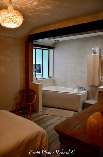 Salle de bain ensuite verriere hannah elizabeth interior design