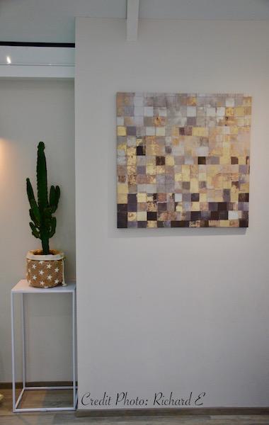 Tableau deco plante interieur hannah elizabeth interior design