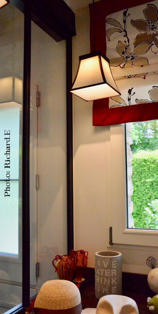 Verriere store bateau cuisine entree hannah elizabeth interior design