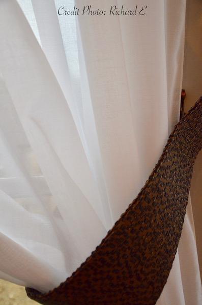 Voilage embrase tissu hannah elizabeth interior design